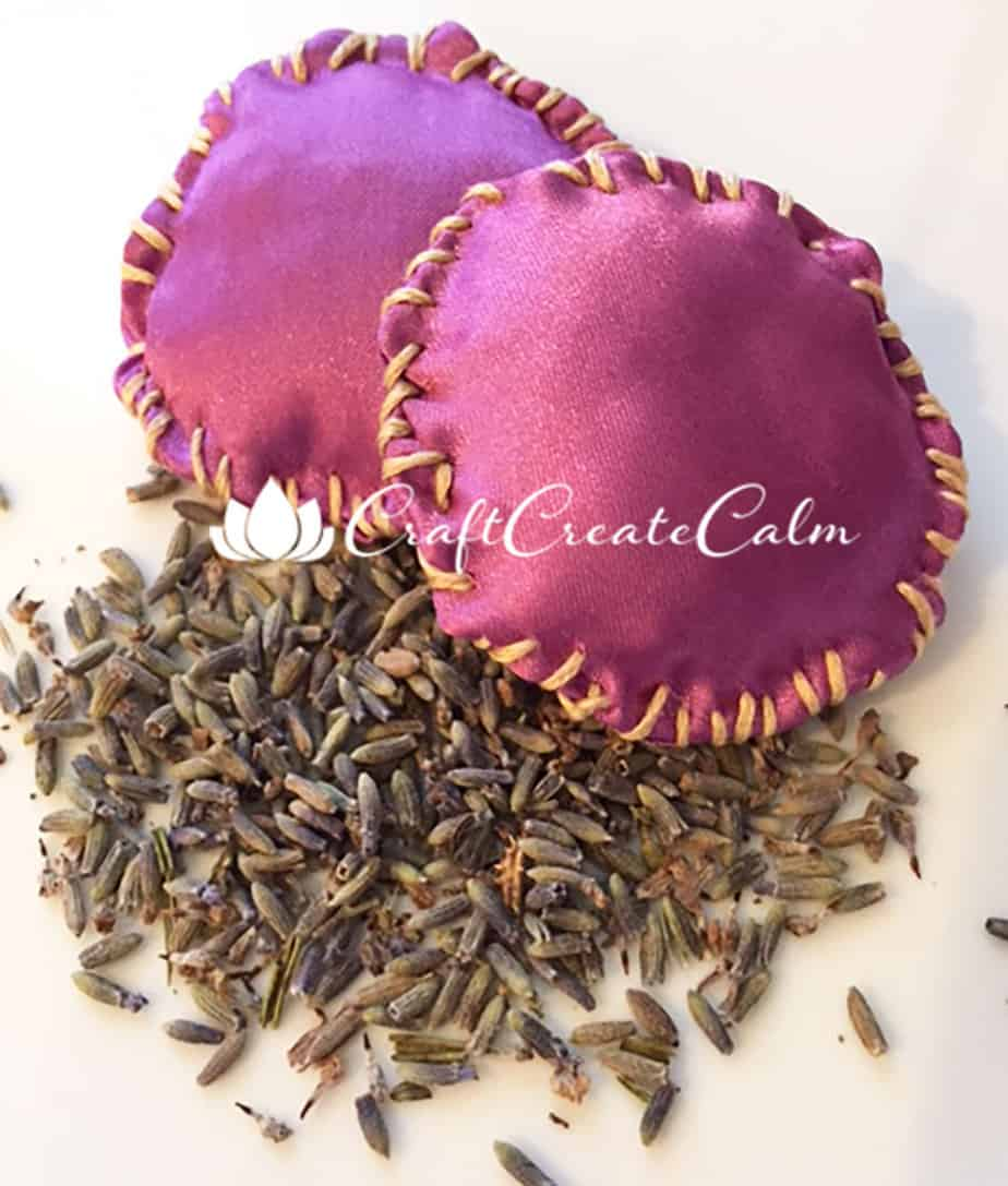 Lavender Eye Pillows, Calm your Mind after a Long Day