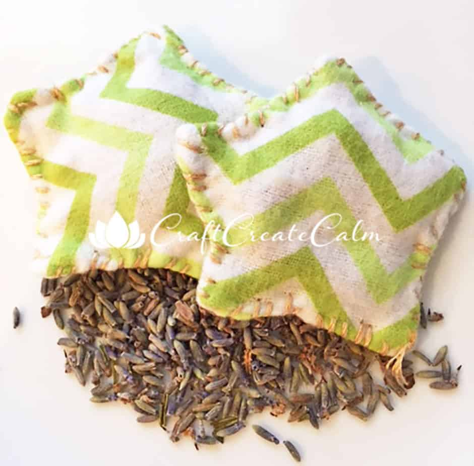 Calm your Anxious Child with Lavender Eye Pillows