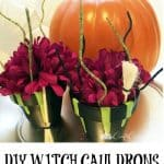 DIY Witch Cauldron Fall Craft for Kids