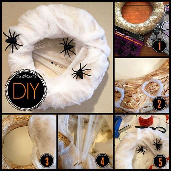 spider wreath diy