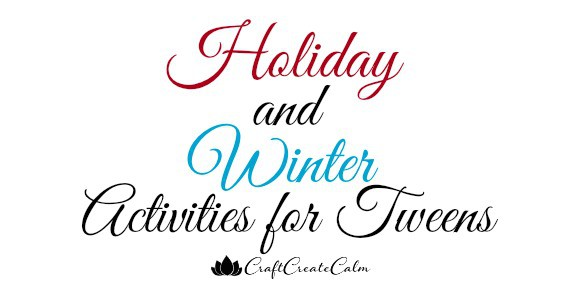 tween crafts and activities