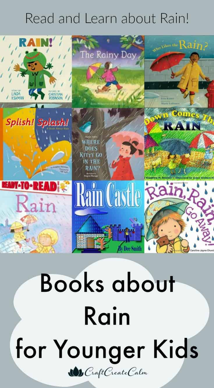 Books about Rain for Younger Kids