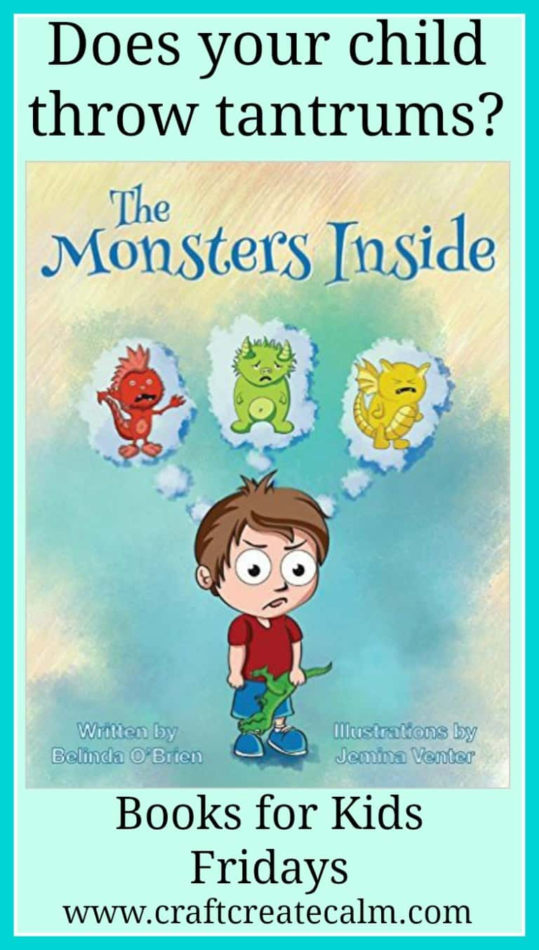 Controlling Tantrums -The Monsters Inside Children's Book