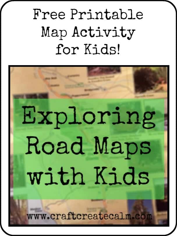 Exploring Travel Maps with Kids- Printable Map Activity