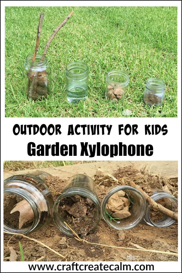 a garden xylophone for kids