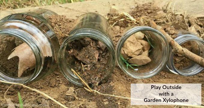Garden Xylophone Outdoor Music Activity for Kids