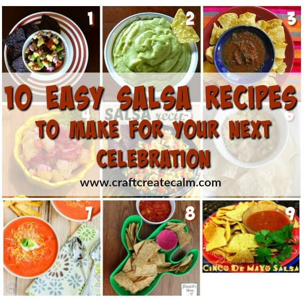10 Tasty Salsa Recipes to make for Your Celebration