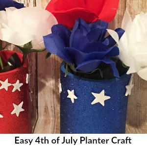 4th of July Planter Craft