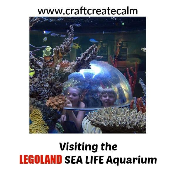 Visiting the LEGOLAND SEA LIFE Aquarium with Kids