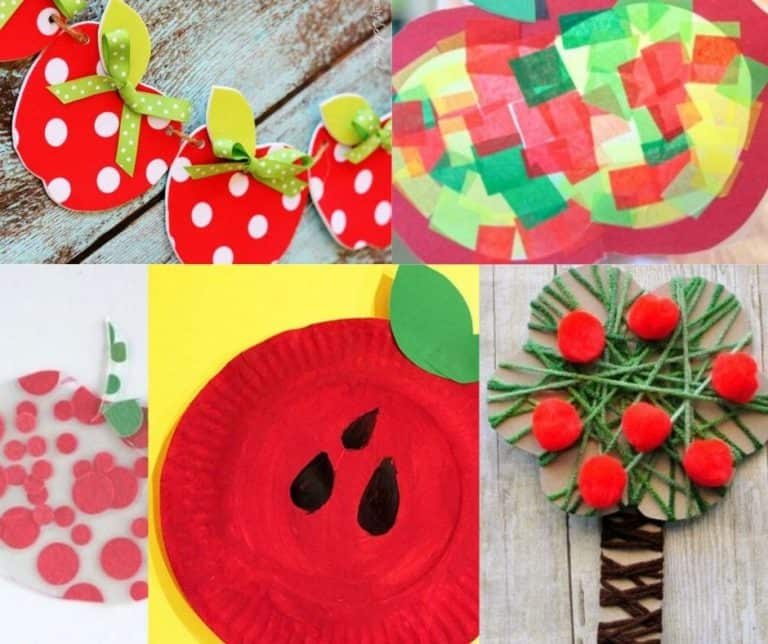 Apple Crafts For Kids: Musical Shakers & More!
