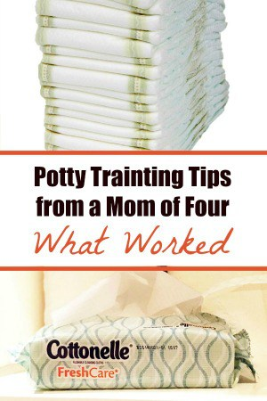 Potty Training Tips from a Mom of Four