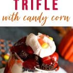 dessert with candy corn