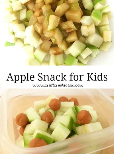 Apple Snack for Kids Virtual Book Club Activity