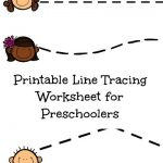 Preschool Pencil Control Printable Connecting Friends