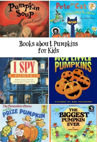 Books about Pumpkins for Kids