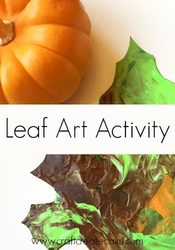 Handy Hints with Hefty Slider Bags-Leaf Art