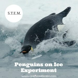 Slippery Penguins on Ice Experiment