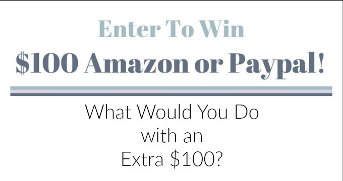 January Giveaway Enter to Win $100