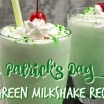 Kid Friendly Green Drink Recipe for St. Patrick's Day