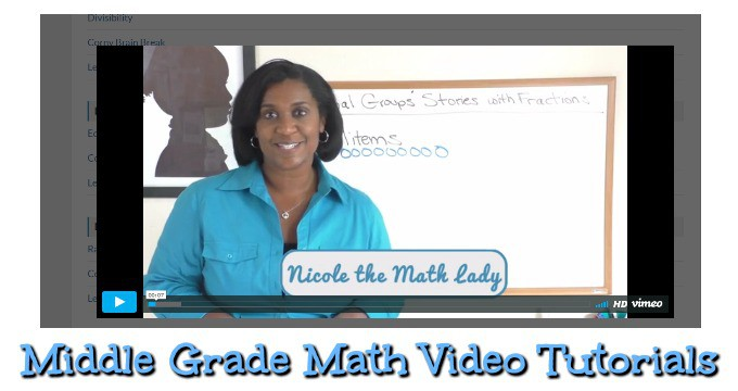 Middle Grades Math with Nicole the Math Lady-Review