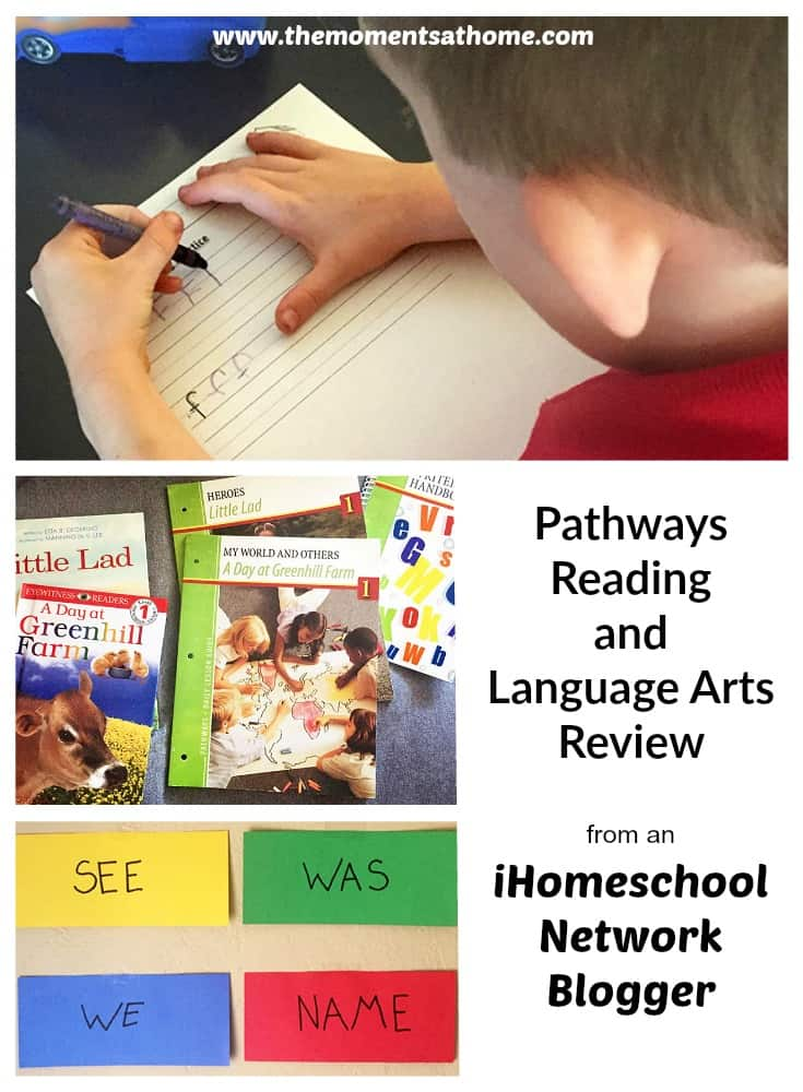 Pathways Reading and Language Arts unit study review for ihomeschool Network. Early learning home eductation curriculum for first grade...