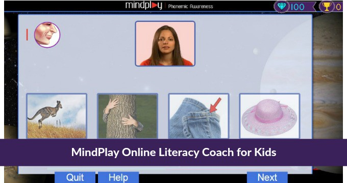 MindPlay Virtual Literacy Coach for Kids