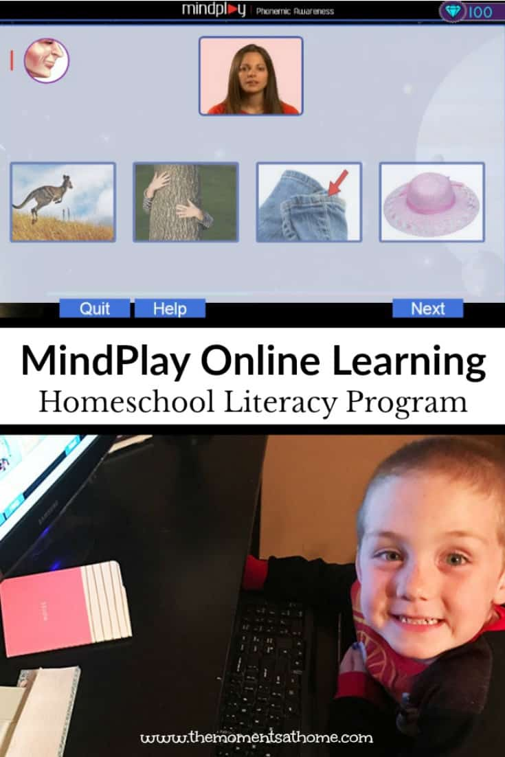 MindPlay online literacy coach for kids is a great homeschooling tool. Read up one level with twenty hours of use!