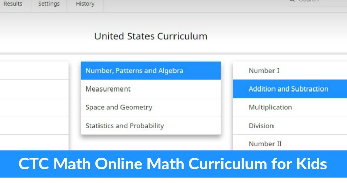 CTCMath Online Math Curriculum Review