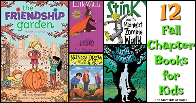 Fall chapter books for kids
