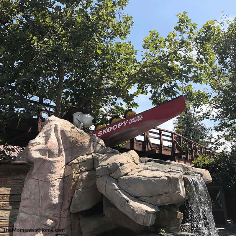 visiting knott's berry farm