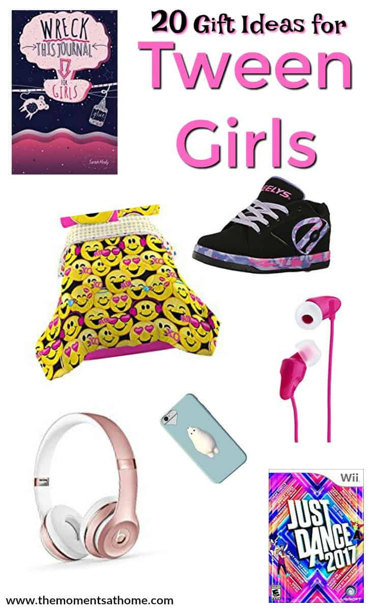 Gift ideas for tween girls. Gift guide for kids, gifts for girls. Great ideas to give girls ages 8-12. #giftguide #tweengirls #holidaygift