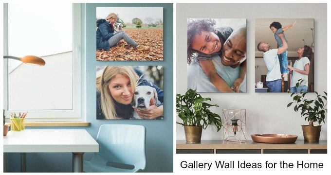 Gallery Wall Ideas for the Home-Canvas On Demand Review