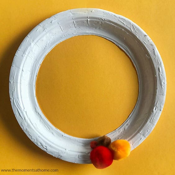 thanksgiving paper plate craft