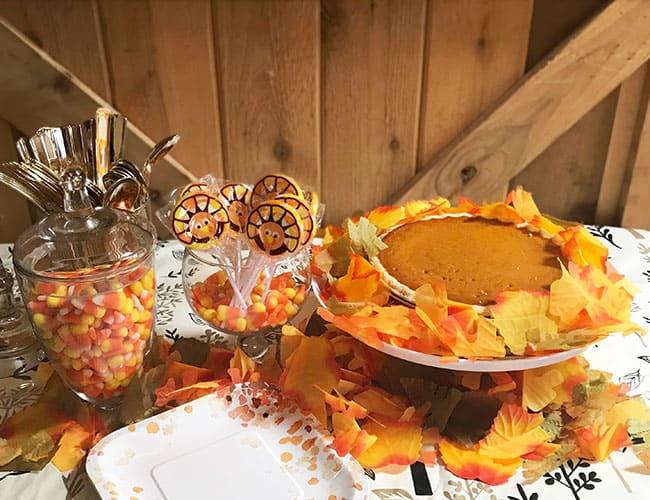 thanksgiving dessert table ideas