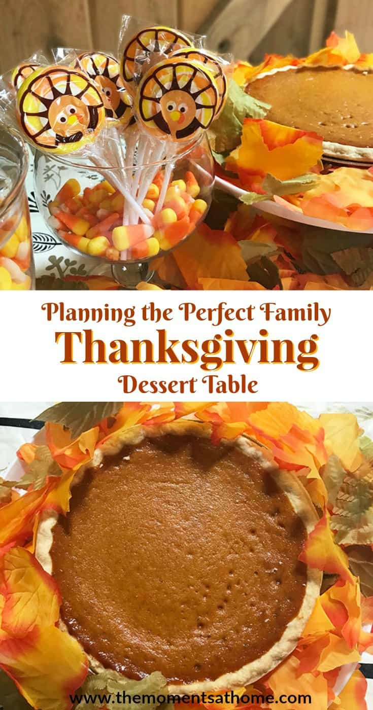 Planning the perfect family Thanksgiving dessert table is easy and fun with these tips!