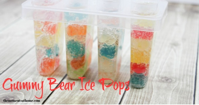 Gummy Bears and Sprite Homemade Popsicle Recipe