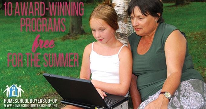 Award Winning Summer Homeschooling Resources