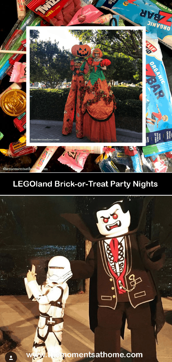 Brick-or-Treat Party Nights at LEGOland California. #sandiego