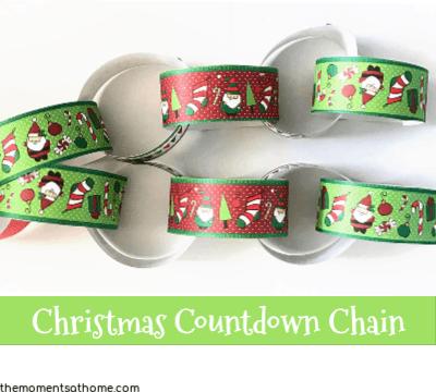 Christmas countdown craft