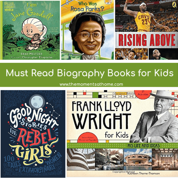 Must read non-fiction books for kids.