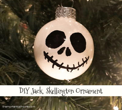Movie and a Craft: Nightmare Before Christmas Ornament