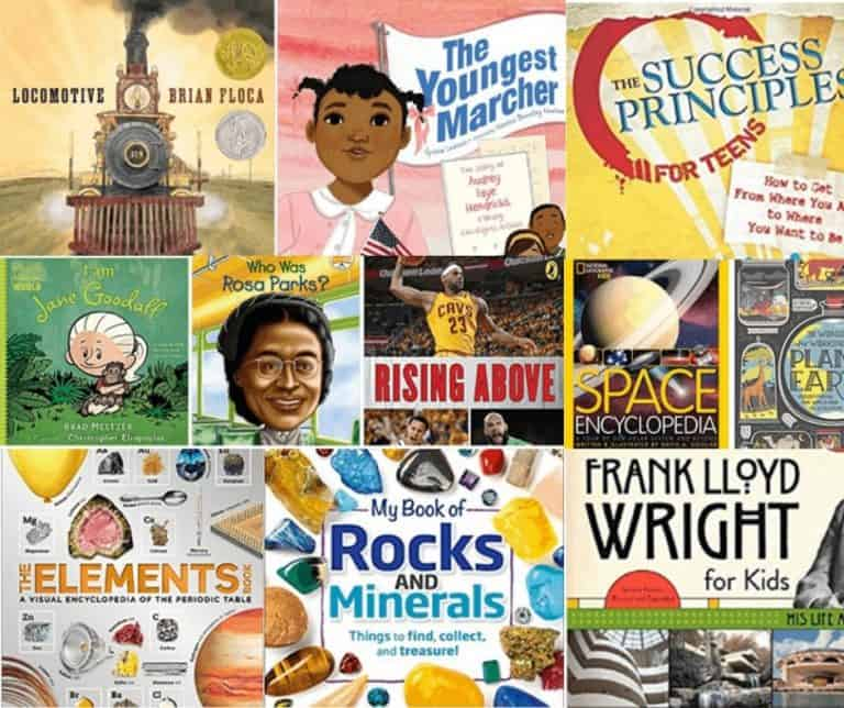 100 Must Read Non-Fiction Books for Kids