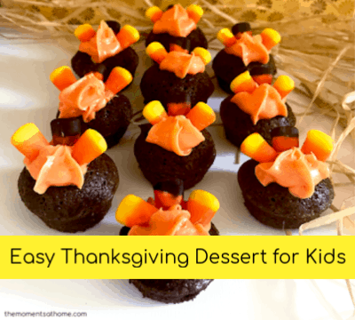 Mini Turkey Treats Thanksgiving Dessert for Kids