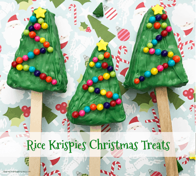 Christmas Party Treats Recipe for Kids