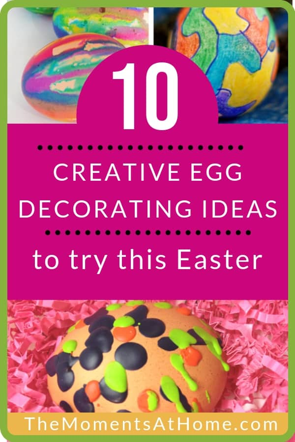 10 creative Easter egg decorating ideas for kids to try this year
