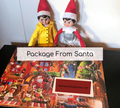 Magical Holidays with Package from Santa