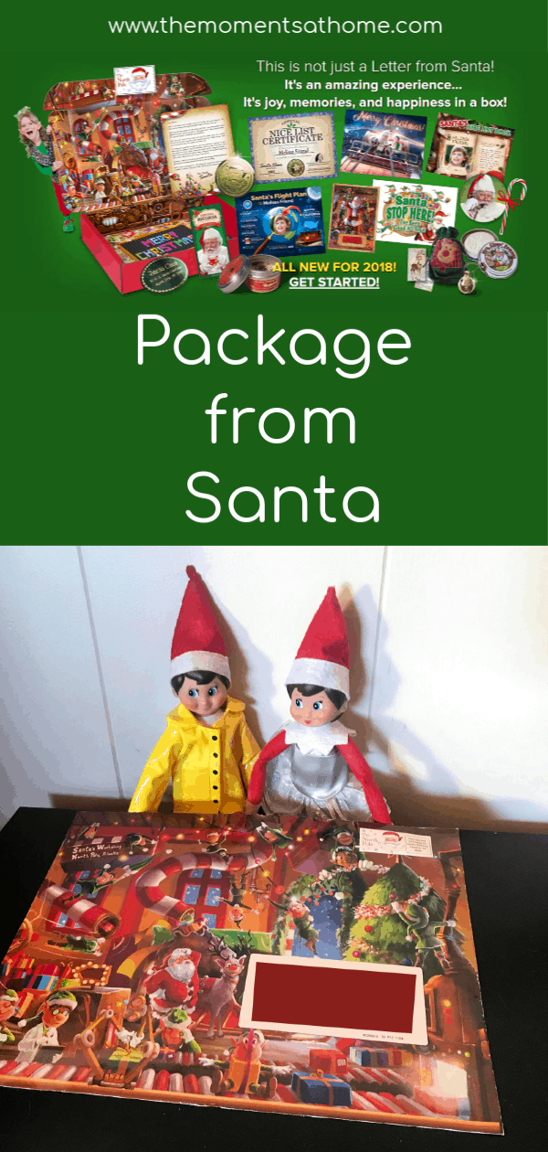 Make magical memories with a Package from Santa! #Chrsitmas