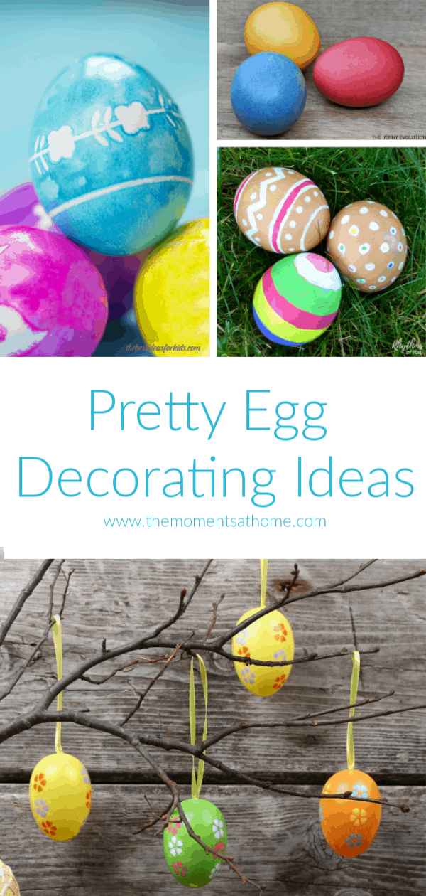 Pretty egg decorating ideas. #easter