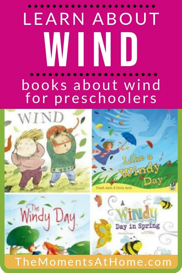 teach your preschooler to learn about weather with these books about wind