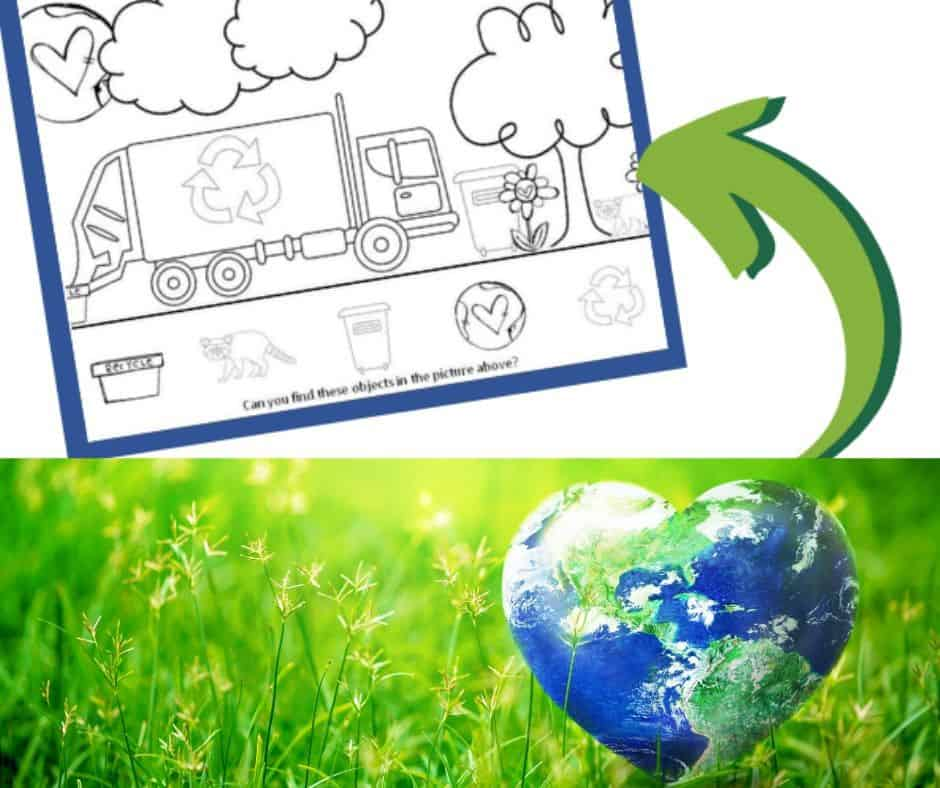 free worksheet printable for earth day